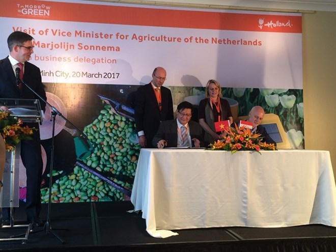 Vietnam, Netherlands to up agriculture ties, Government news, Vietnam breaking news, politic news, vietnamnet bridge, english news, Vietnam news, news Vietnam, vietnamnet news, Vietnam net news, Vietnam latest news, vn news
