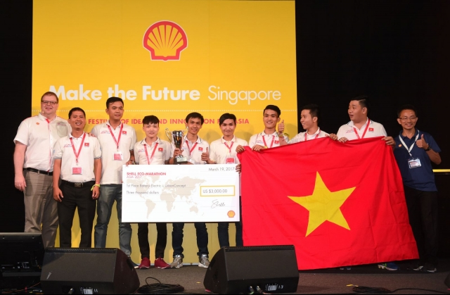 Vietnam wins first prize at Shell Eco-Marathon for third time, IT news, sci-tech news, vietnamnet bridge, english news, Vietnam news, news Vietnam, vietnamnet news, Vietnam net news, Vietnam latest news, Vietnam breaking news, vn news