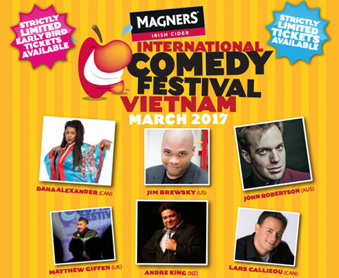 International comedians gather in Saigon for large-scale festival