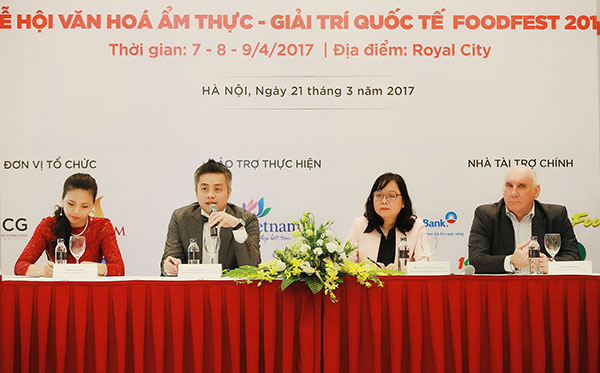Taste 1,000 dishes from around the world at Food Fest 2017 in Hanoi