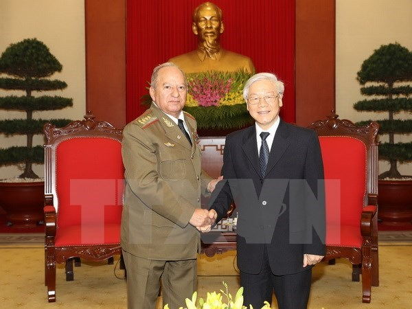 Vietnam, Cuba sign 2017-2019 defence cooperation plan