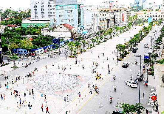 HCM City to develop 22 hectare downtown walking street zone