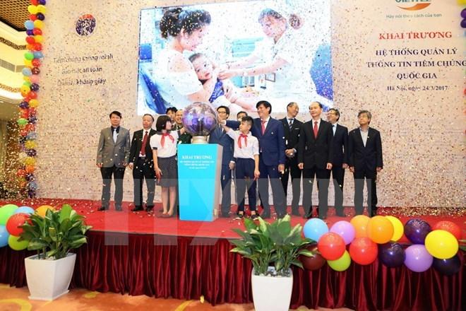 VN national vaccination management system launched, social news, vietnamnet bridge, english news, Vietnam news, news Vietnam, vietnamnet news, Vietnam net news, Vietnam latest news, vn news, Vietnam breaking news