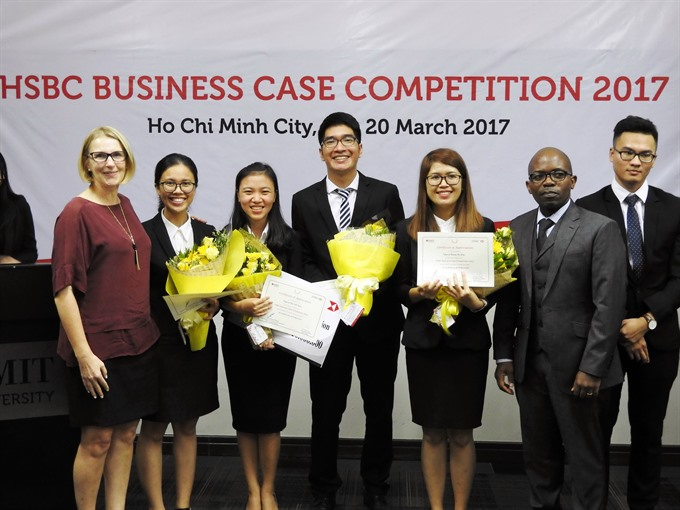 RMIT university to represent Viet Nam at Asia Pacific Business Case Competition