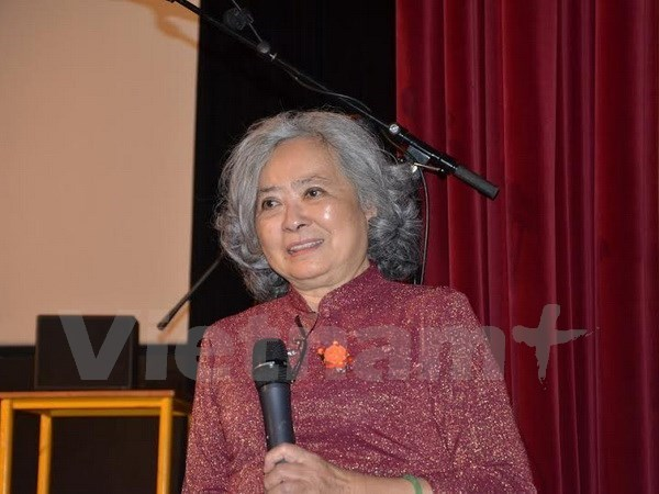 Vietnamese AO victim introduces her autobiography in France, social news, vietnamnet bridge, english news, Vietnam news, news Vietnam, vietnamnet news, Vietnam net news, Vietnam latest news, vn news, Vietnam breaking news