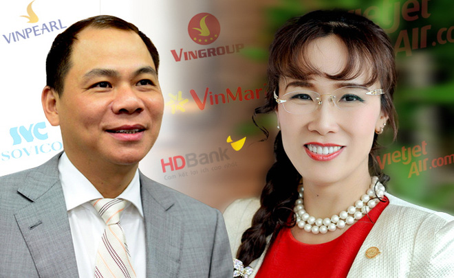 vietnam economy, business news, vn news, vietnamnet bridge, english news, Vietnam news, news Vietnam, vietnamnet news, vn news, Vietnam net news, Vietnam latest news, Vietnam breaking news, Pham Nhat Vuong, Nguyen thi Phuong Thao, Vietjet, Vingroup