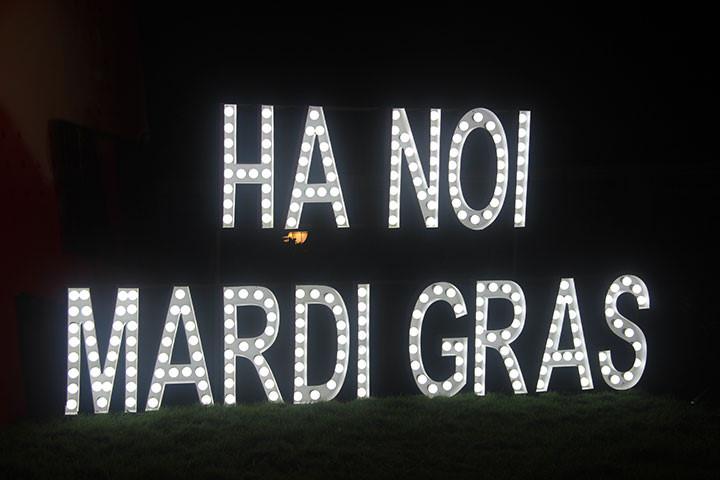 First-ever Hanoi Mardi Gras