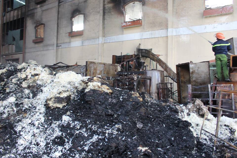 Damage in Can Tho city fire estimated to worth $13 mil