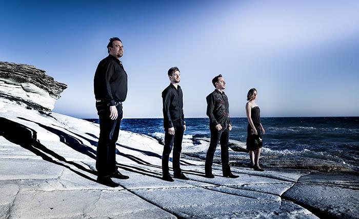 French strings quartet,Tana touring in Hanoi, HCM City