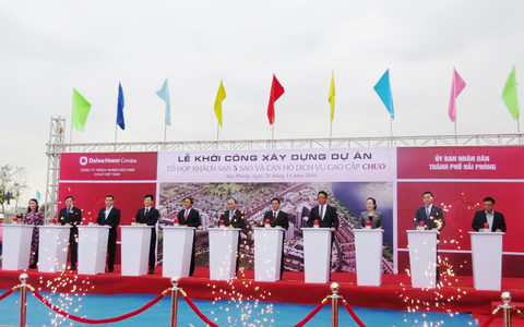 Japanese firm to build large hotel in Vietnam