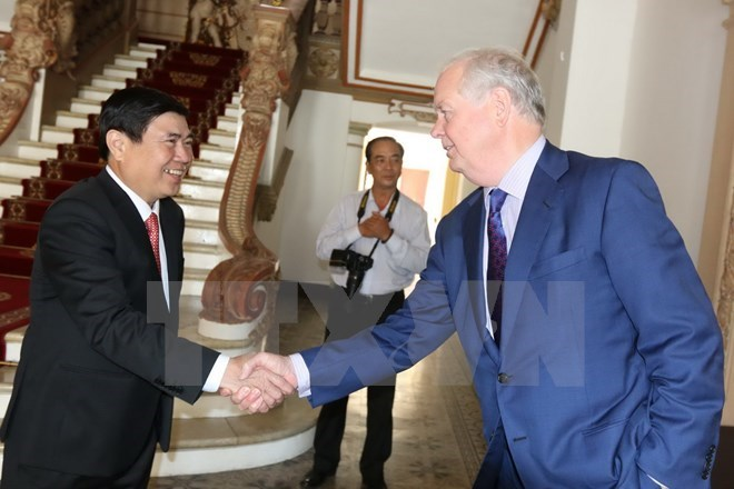HCM City leader vows support for Fulbright University project, Government news, Vietnam breaking news, politic news, vietnamnet bridge, english news, Vietnam news, news Vietnam, vietnamnet news, Vietnam net news, Vietnam latest news, vn news