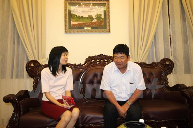 Doan Thi Huong's father visits daughter before trial, social news, vietnamnet bridge, english news, Vietnam news, news Vietnam, vietnamnet news, Vietnam net news, Vietnam latest news, vn news, Vietnam breaking news