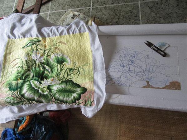 Khoai Noi, an ancient embroidery craft village in Hanoi