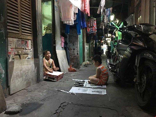 Life in a Saigon slum