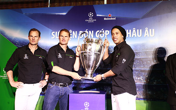UEFA Champions League Trophy Tour comes to Vietnam, Sports news, football, Vietnam sports, vietnamnet bridge, english news, Vietnam news, news Vietnam, vietnamnet news, Vietnam net news, Vietnam latest news, vn news, Vietnam breaking news
