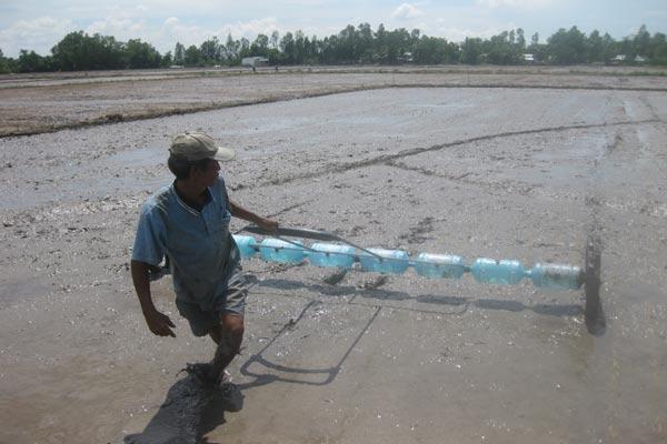Farmers in Mekong Delta reserve fresh water for coming drought, environmental news, sci-tech news, vietnamnet bridge, english news, Vietnam news, news Vietnam, vietnamnet news, Vietnam net news, Vietnam latest news, Vietnam breaking news, vn news