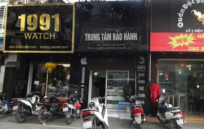 Apple bites into illegal shops in Vietnam, IT news, sci-tech news, vietnamnet bridge, english news, Vietnam news, news Vietnam, vietnamnet news, Vietnam net news, Vietnam latest news, Vietnam breaking news, vn news