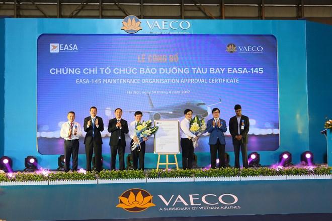 Vietnamese company gains EU aircraft maintenance certificate, vietnam economy, business news, vn news, vietnamnet bridge, english news, Vietnam news, news Vietnam, vietnamnet news, vn news, Vietnam net news, Vietnam latest news, Vietnam breaking news