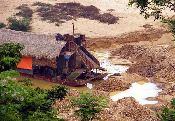Bong Mieu illegal gold mine, illegal gold exploiters, Vietnam economy, Vietnamnet bridge, English news about Vietnam, Vietnam news, news about Vietnam, English news, Vietnamnet news, latest news on Vietnam, Vietnam