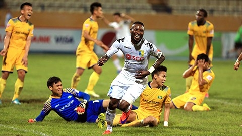 Hanoi FC crowned V-League fist-leg champions, Sports news, football, Vietnam sports, vietnamnet bridge, english news, Vietnam news, news Vietnam, vietnamnet news, Vietnam net news, Vietnam latest news, vn news, Vietnam breaking news