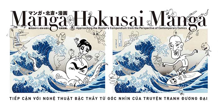 Japan's Hokusai Manga exhibition at Vietnam Fine Arts Museum