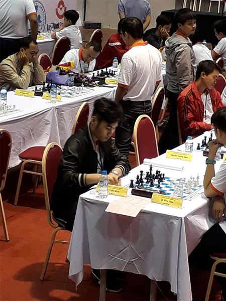 National Chess Championships, No 1 seed Tran Tuan Minh, Vietnam economy, Vietnamnet bridge, English news about Vietnam, Vietnam news, news about Vietnam, English news, Vietnamnet news, latest news on Vietnam, Vietnam