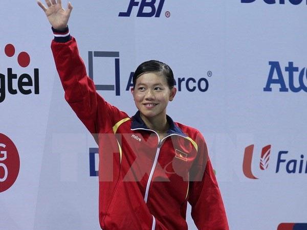 Asian Swimming Championships, Nguyen Thi Anh Vien, Vietnam economy, Vietnamnet bridge, English news about Vietnam, Vietnam news, news about Vietnam, English news, Vietnamnet news, latest news on Vietnam, Vietnam
