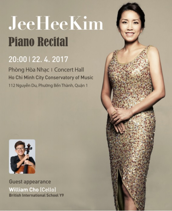 Korean Pianist Kim Jee Hee to perform in HCM City