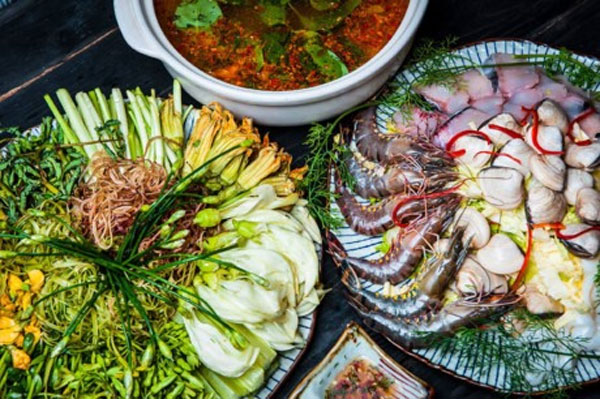 Saigon Cuisine, Mon Ngon Sai Thanh, lau thuyen bong hotpot, Vietnam economy, Vietnamnet bridge, English news about Vietnam, Vietnam news, news about Vietnam, English news, Vietnamnet news, latest news on Vietnam, Vietnam
