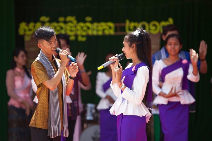 Khmer New Year Festival wishes for lucks