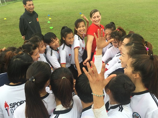 Viet Nam women's footballers, train, improve, Vietnam economy, Vietnamnet bridge, English news about Vietnam, Vietnam news, news about Vietnam, English news, Vietnamnet news, latest news on Vietnam, Vietnam
