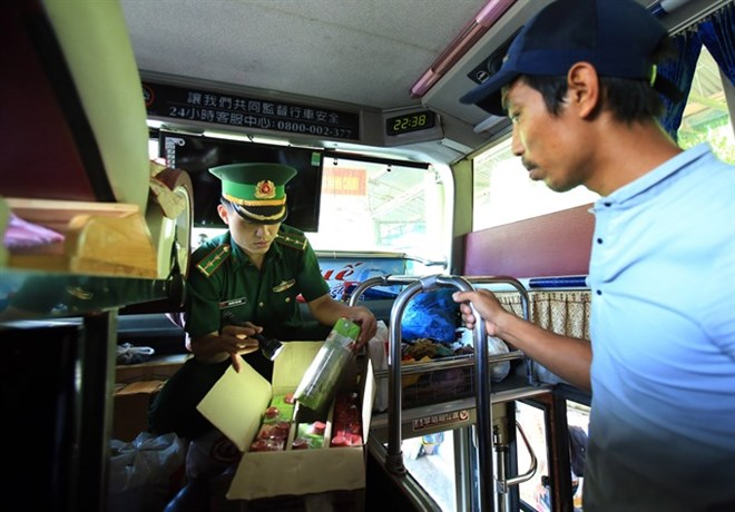 Police struggle to combat drug border trafficking, vietnam economy, business news, vn news, vietnamnet bridge, english news, Vietnam news, news Vietnam, vietnamnet news, vn news, Vietnam net news, Vietnam latest news, Vietnam reaking news