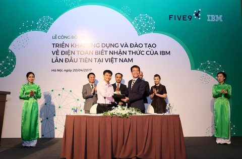 IBM, Five9 to promote use of cognitive computing, IT news, sci-tech news, vietnamnet bridge, english news, Vietnam news, news Vietnam, vietnamnet news, Vietnam net news, Vietnam latest news, Vietnam breaking news, vn news