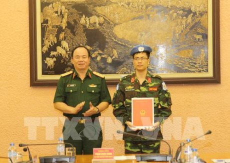 More Vietnamese officer joins UN peacekeeping mission, Government news, Vietnam breaking news, politic news, vietnamnet bridge, english news, Vietnam news, news Vietnam, vietnamnet news, Vietnam net news, Vietnam latest news, vn news