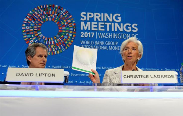 Trump administration, world financial officials, IMF, clash over trade