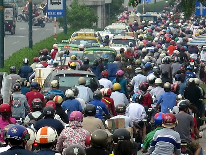HCM City must reduce use of personal vehicles: experts