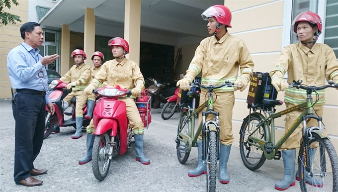 Volunteers fight fire in wake of karaoke disaster, social news, vietnamnet bridge, english news, Vietnam news, news Vietnam, vietnamnet news, Vietnam net news, Vietnam latest news, vn news, Vietnam breaking news