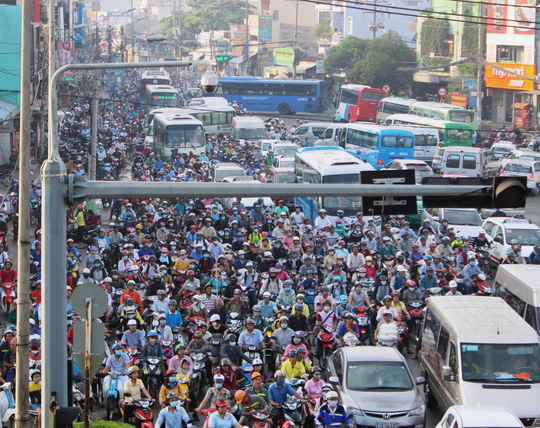 HCM City continues pushing for motorbike ban