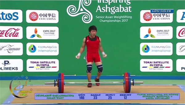 Vietnam wins gold at Asian weightlifting champs