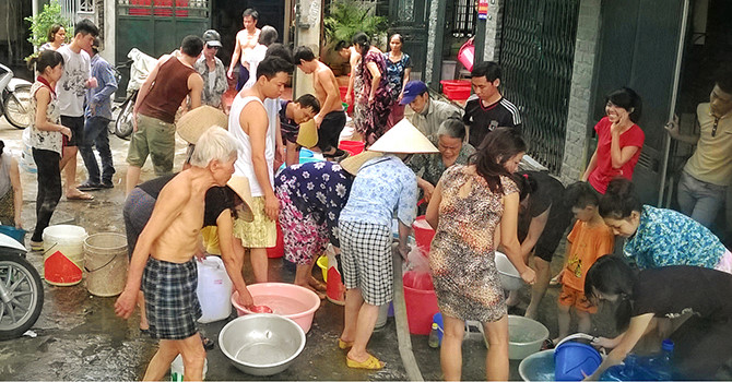 Lack of water threatens localities in Vietnam