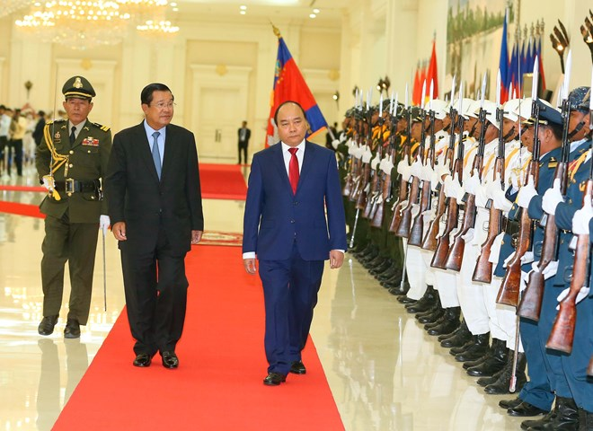 Vietnam, Cambodia reach consensus on cooperation enhancement, Government news, Vietnam breaking news, politic news, vietnamnet bridge, english news, Vietnam news, news Vietnam, vietnamnet news, Vietnam net news, Vietnam latest news, vn news