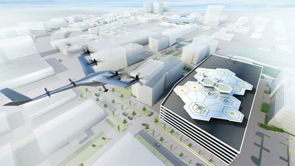 Uber looks to soar with flying taxis by 2020