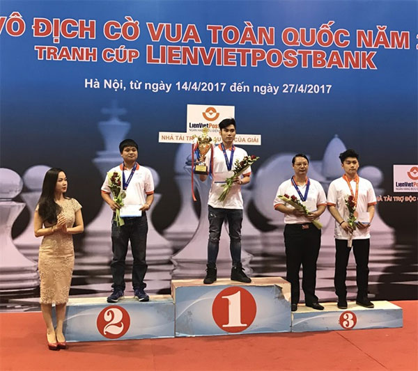 Minh, An top rapid chess at national championship