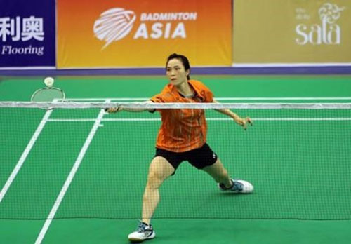 Trang survives in continental badminton tourney