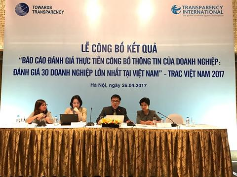 VN firms struggle in transparency