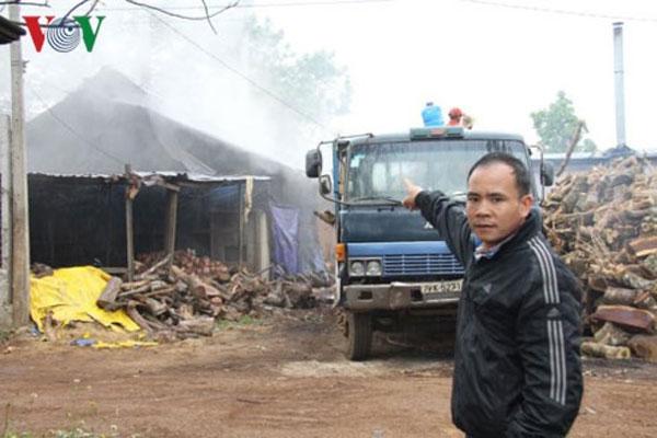 Dak Lak, charcoal incinerators, affect people's health, Vietnam economy, Vietnamnet bridge, English news about Vietnam, Vietnam news, news about Vietnam, English news, Vietnamnet news, latest news on Vietnam, Vietnam