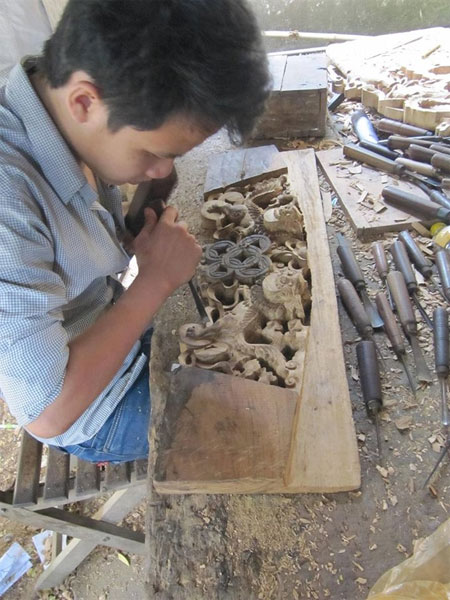 Kim Bong Village, carpentry craft, traditional craft village, Vietnam economy, Vietnamnet bridge, English news about Vietnam, Vietnam news, news about Vietnam, English news, Vietnamnet news, latest news on Vietnam, Vietnam