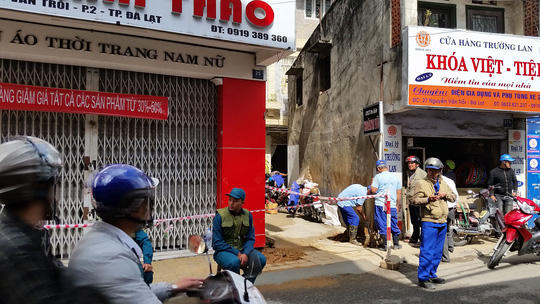 Da Lat closes hotels, evacuates residents due to houses sinking