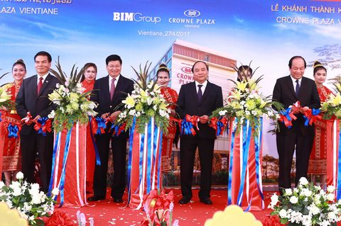 Vietnam firms open the first five-star hotel in Laos