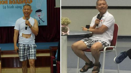 Ministry questions about professor wearing shorts to give lecture, social news, vietnamnet bridge, english news, Vietnam news, news Vietnam, vietnamnet news, Vietnam net news, Vietnam latest news, vn news, Vietnam breaking news
